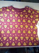 Disney The Lion King Wms All over Print T-Shirt Szs 1 med/ 4 Lgs /1 Xl /1 2X Nwt