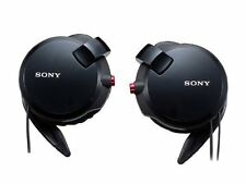 ya0722 Sony MDR-Q68LW B Clip-on Style Headphone with Retractable Cord from Japan