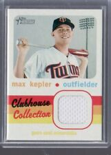 2020 MAX KEPLER HERITAGE CLUBHOUSE COLLECTION JERSEY CARD