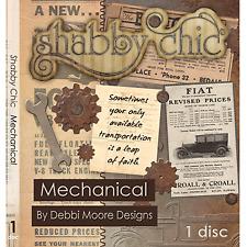 1 x Debbi Moore Designs Shabby Chic Mechanical CD Rom (293701)