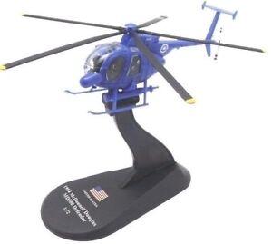 helicopter McDonnell Douglas MD500 Defender diecast 1:72 metal