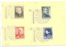 NEDERLAND 1936 SPEC KAART PM=INTERNATIONAAL KOUDE-CONGRES + ALMOST VF