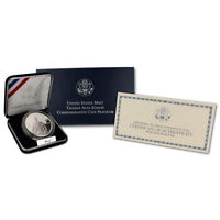 2004-P Thomas Alva Edison Commemorative Proof Silver Dollar in Original Box COA