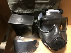 Avon FM50 /M50 CBRN Gas Mask Size Large w/ Filter (Never Used)