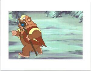 Star Wars Ewoks Chief Chirpa Production Animation Cel n Draw Lucasfilm b5451