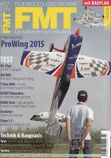 FMT1507 Bauplan 3201463: FluQ-02, Quadrocopter aus Holz + FMT 7/2015