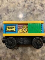 Thomas & Friends Wooden Railway Lion Car with sound effects Zoo Train Engine