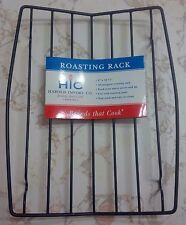 HIC Wire Roasting Baking Broiling Rack, Nonstick, 8-Inches x 10.375-Inches ROAST