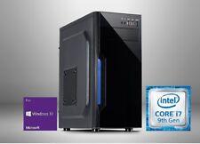 Office Komplett PC System Intel i7 9700K 8x 4,70GHz 32GB RAM 500GB SSD Win -80