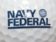 (1) Navy Federal - United States Military Department Of Navy Logo Golf Ball
