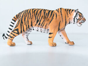 Schleich Wild Life Animal Figure Siberian Tiger Plastic Toy model #14729