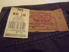 """LEVIS 901 VINTAGE JEANS W26"""" L30"""" (ORIGINAL) 934"""