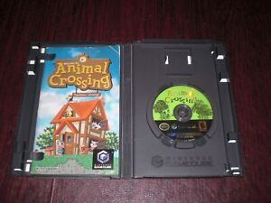 Animal Crossing Game for Nintendo GameCube Complete w Box Manual Case TESTED