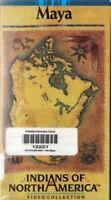 Indians of North America Maya VHS Video Tape