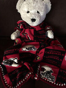Arizona Cardinals Fleece Baby Blanket/Cardinals Baby Blanket/Cardinals Fleece