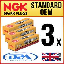 3x NGK BP7ES 2412 Standard Spark Plugs *Wholesale Price SALE*