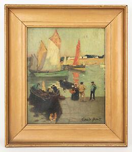 Impressionism Oil Painting, Claude Monet Signature