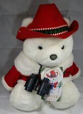 NEW Santa Bear 1995 - Conservation Corp Dayton Hudson Marshall Fields NWT W Book