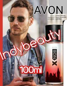 XNOB AVON. EAU OF TOILETTE SPRAY FOR MEN. EDICIÓN 100ML GRAN COTENIDO BY AVON