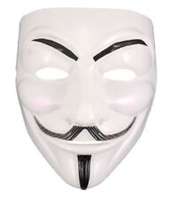 Anonymous Hacker Vendetta Guy Face Mask Adults Halloween Fancy Party Accessory