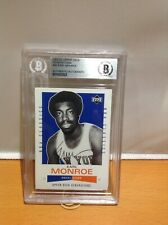 HOF Basketball Earl Monroe Autographed Card Beckett Authenticated