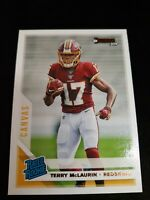 B49 Terry McLaurin *Canvas Parallel*2019 Donruss Redskins Rated Rookie Card