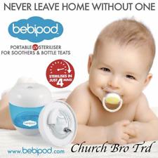 New BEBIPOD Portable UV Steriliser for Soothers & Bottle Teats Baby Bottle's