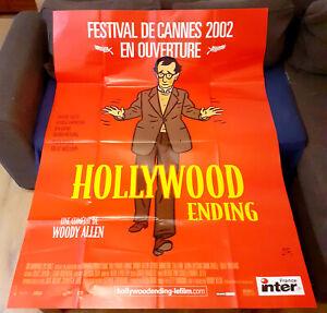 HOLLYWOOD ENDING - Woody ALLEN - Affiche Cinéma (120x160)