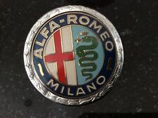 "Alfa Romeo MILANO"" Classic Car Badge Pre 1972 Design"