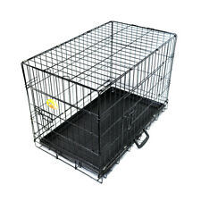Zuce High Quality 36 Inch Metal Puppy Dog Training Crate Bed