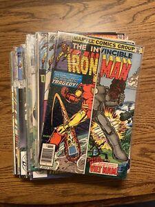 Iron Man Lot 23 Books 1980's VF/NM Bronze/Copper Age Marvel Comics Avengers