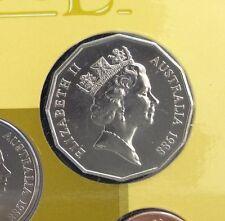 1988 50 cent coin Tall Ships UNC ex Mint Set
