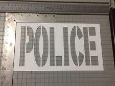 Police Street Art Stencil Medium Pkg Of 2