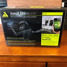 AwoX StriimLINK Wi-Fi Home Stereo Streaming Adapter S1-W NIB Free Shipping!