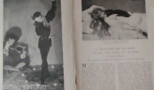 Hon John Collier & His Work Art Artist Rare Old Edwardian Photo Article1904