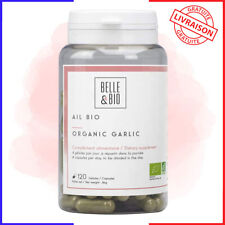 Belle&Bio - Ail Bio - 120 gélules - 1200 mg / jour - Circulation - Certifié Bio