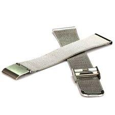 Milanaiseband Meshuhrband Edelstahl-Uhrenband - 18 mm Ersatz-Uhrarmband