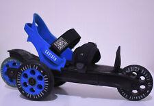 Cardiff Skate Co Adult Size Large Cardiff Cruiser Blue Black Extreme Roller Rare