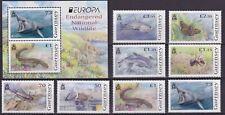 Guernsey 2021 Europa CEPT, Fauna, Sharks, Dolphins, Butterflies, Birds MNH**