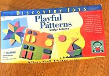 Playful Patterns Design Activity Discovery Toys Play Education Preschool GUC