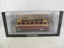 Scarce Minichamps 439 030080 Setra S8 1953 in Red & Beige Limited edition