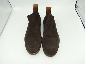 Ecco Boots Size 42 Brown Men SLip on