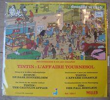 DECALCO WILLEB HERGE TINTIN AFFAIRE TOURNESOL 1978