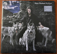 More details for steve hackett wolflight 2xlp limited edition clear vinyl + cd signed – mint