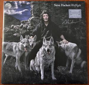 Steve Hackett Wolflight 2xLP Édition Limitée Transparent Vinyle + CD Signé –
