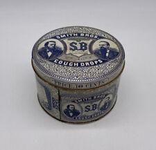 smith brothers memorabilia Antique cough drop tin bathroom decor Smith Bros collectible antique collectibles vintage tin