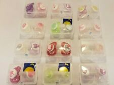 Mam Pacifiers In Carrying Cases- 24 Total-
