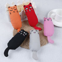 Catnip Cat Toy Fancy Pet Teeth Grinding Kitten Kick Sticks Cute Interactive np