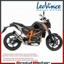 KTM 690 DUKE 2012 12 LEOVINCE EXHAUST MUFFLER LV ONE EVO STAINLESS STEEL 8702E