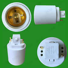 GX24 a E27 ES Rosca Edison Bombilla Adaptador Conversor de socket titular